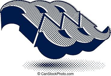 Arrows vector abstract symbol
