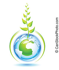 Living Earth - Environmental concept for preservation of the...