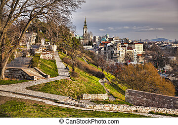 Belgrade capital city of Serbia