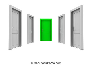 Choose the Green Door