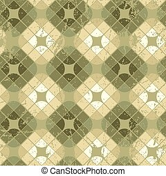 Old style tiles seamless background