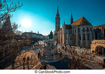 Matthias Church - Budapest, Hungary - February 14, 2015....