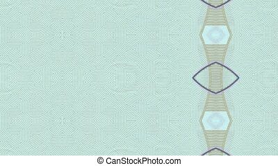 Money pattern - changing pattern of the bank note abstract...