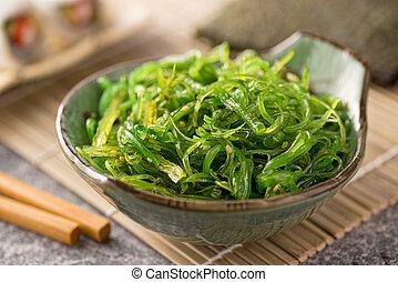 Seaweed Salad - A delicious fresh seaweed salad.