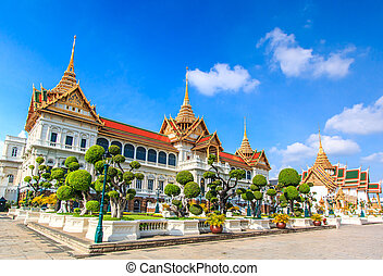 Royal grand palace in Bangkok, Asia Thailand