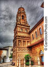 Torre d'Utebo (Zaragoza) in Poble Espanyol, Barcelona