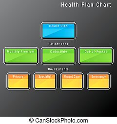 Health Plan Chart - An image of a health plan chart