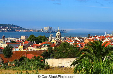Landscape of Lisboa, Portugal