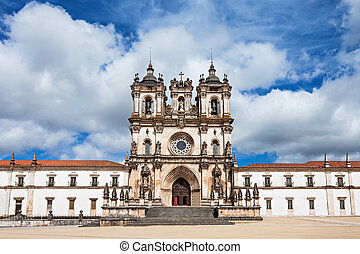 The Alcobaca Monastery is a Mediaeval Roman Catholic...