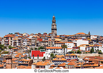Clerigos Tower, Porto - Clerigos Tower (Torre dos Clerigos),...