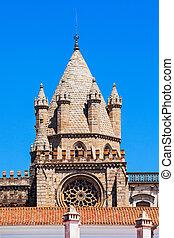 Cathedral of Evora - The Cathedral of Evora (Se de Evora) is...