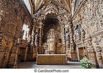 Igreja de Santa Clara is a church in Porto, Portugal