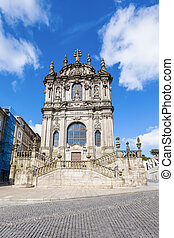 The Clerigos Church Igreja dos Clerigos is a Baroque church...