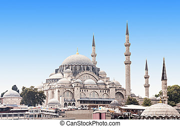 The Suleymaniye Mosque is an Ottoman imperial mosque in...