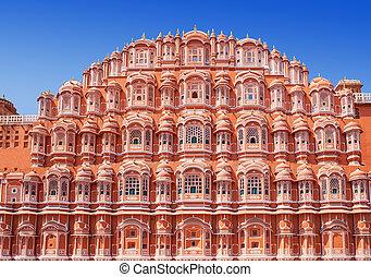 Hawa Mahal palace, Jaipur - Hawa Mahal palace Palace of the...