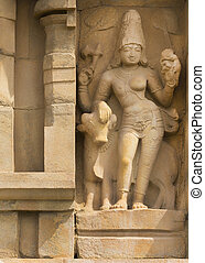 Ardhanareeswarar, the dual gender Lord Shiva - KUMBAKONAM,...