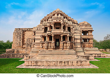 Sas Bahu Temple in Gwalior city, India