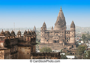 Chaturbhuj Temple, Orchha - Chaturbhuj Temple in Orchha in...