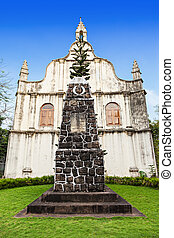 St. Francis Church - Tomb at St. Francis Church, place where...