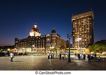 Taj Mahal Palace Hotel - MUMBAI, INDIA - FEBRUARY 21: The...