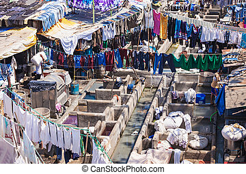 Dhobi Ghat, Mumbai - Dhobi Ghat is a well known open air...