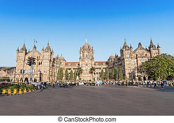 Chhatrapati Shivaji Terminus (CST) is a UNESCO World...