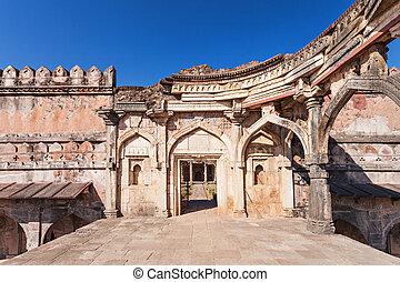 Mosque in Mandu - Old Mosque in Mandu, Madhya Pradesh, India