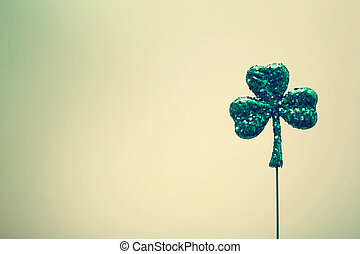 Saint Patricks Day ornament - Saint Patricks Day shiny green...