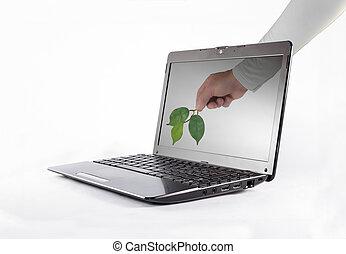 tecnología, naturaleza