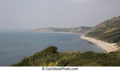 Dorset coast view Osmington Mills - View from Osmington...