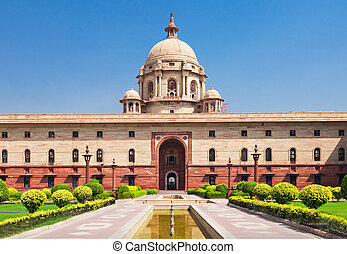 Rashtrapati Bhavan is the official home of the President of...