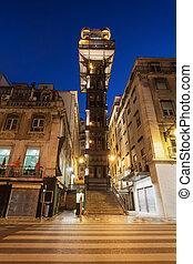 Santa Justa Lift - The Santa Justa Lift also called Carmo...