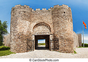 Samuil's Fortress is a fortress in the old town, Ohrid,...