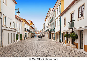 Tomar city center, Santarem District in Portugal