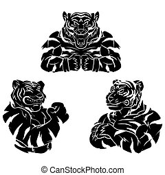 Tiger Strong Tattoo