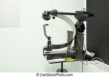 Test vision machine