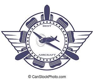Best aircraft. Stamp