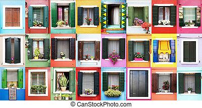 Burano windows - Burano window