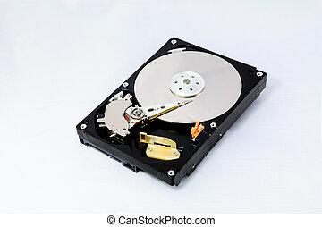 Hard Disk - Disassembled Hard Disk