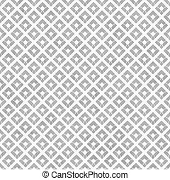 Gray and White Diagonal Squares Tiles Pattern Repeat...