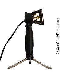 Softbox Spot Light - Isolated close-up of a light often used...