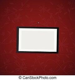 Hanging Frame Illustration