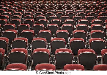 Background Of Auditorium Seats
