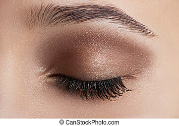 Eye makeup - beautiful makeup