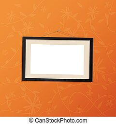 Hanging Picture Frame Illustration - Illustr