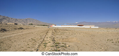 School in Afghanistan - New school near Kabul in Afghanistan