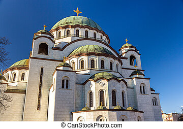 Church of Saint Sava in Belgrade - Serbia