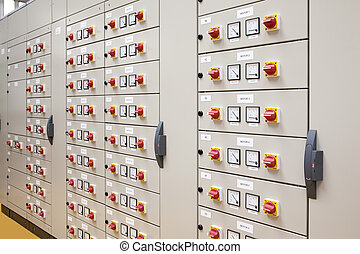 Electrical panel for motors control