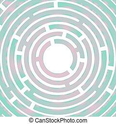 Art color maze