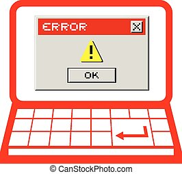 Error message pc - Creative design of Error message pc